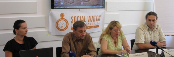 Tisková konference Social Watch